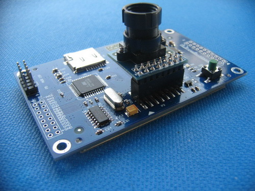 Robot camera module with quot tft rev arduino compatible