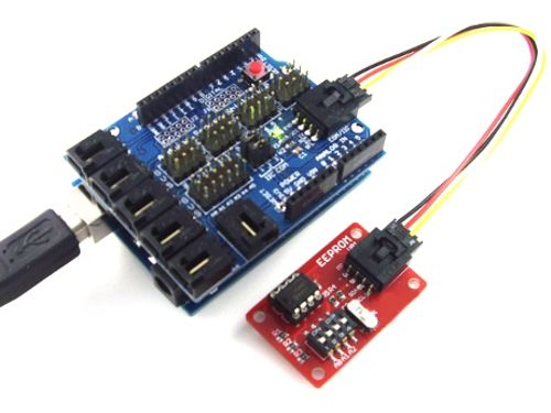 eeprom write anything arduino board