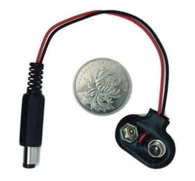 9V Battery Button