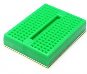 Mini Self-Adhesive Green Breadboard