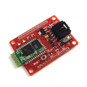 Sending and Receiving Data via Bluetooth with an