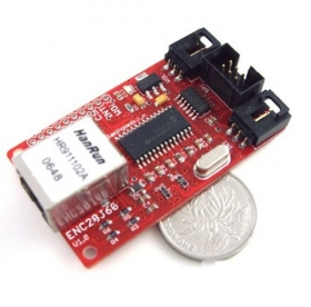 ENC28J60 Network Shield -Arduino Compatible