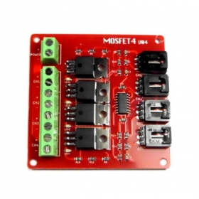 4 Route MOSFET Button IRF540 V4.0 -Arduino Compatible