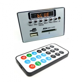 Remote USB-SD AUX Mp3 FM Radio Player Module -A