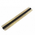 2.54mm Double Male Headers--40Pins