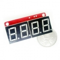 7-Seg digit LED Shield -Red
