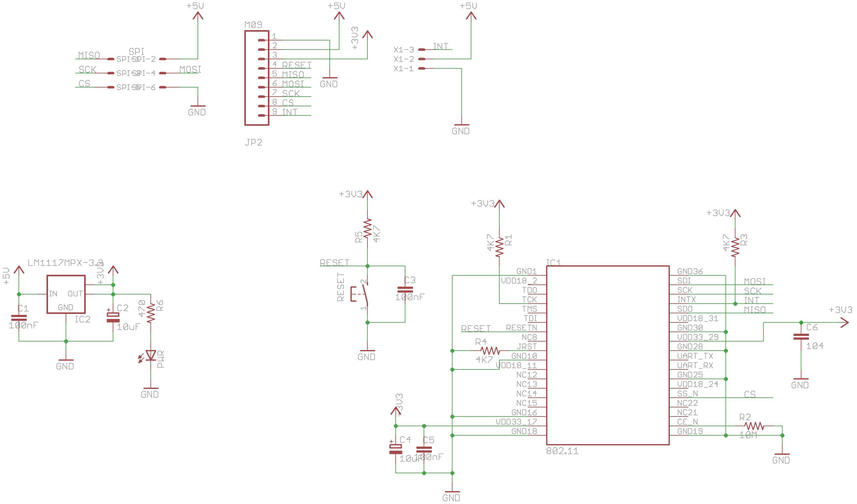 spi wifi module based on microchip mrf24wb0ma