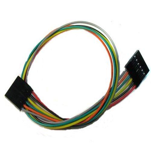 3 Pin Dual-female Jumper Wire--300mm 10pcs pack