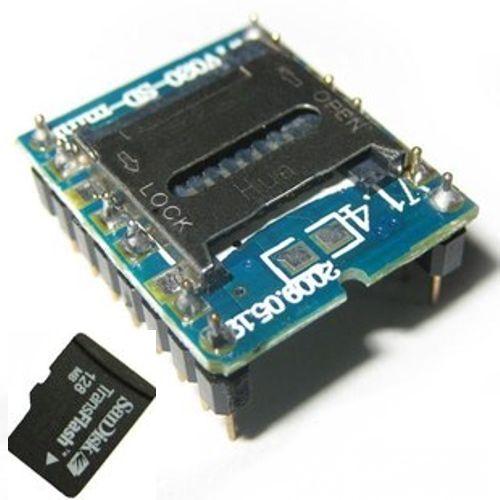 WTV020-SD-16P MP3 Voice Module - emartee com