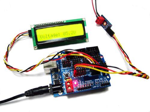 Voltage Sensor Module -Arduino Compatible - emartee com