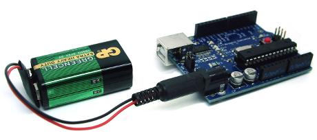 Image result for 9v battery arduino