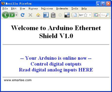 Arduino ENC28J60 Network Shield - emartee com