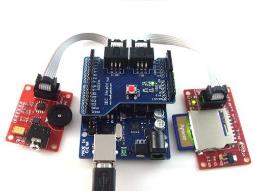 Arduino WAV Sound Playing Module - emartee com